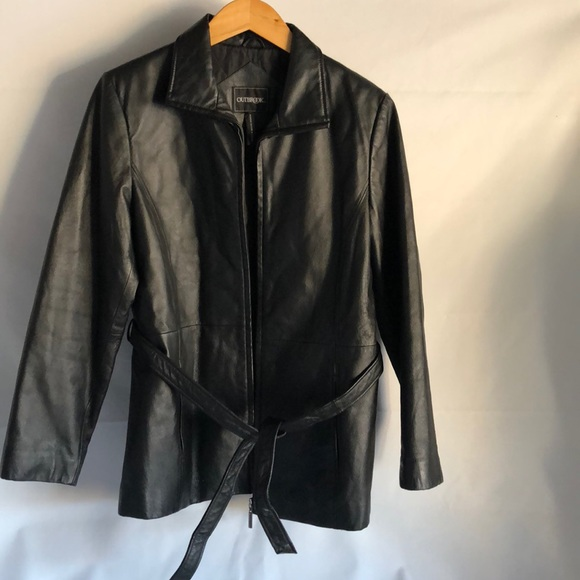 3e5fb4a23 Outbrook Line Genuine Quilt Leather jacket size M